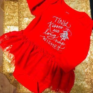 Girl's Christmas Outfit